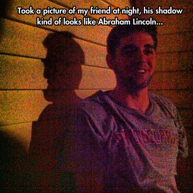 the weird shadow
