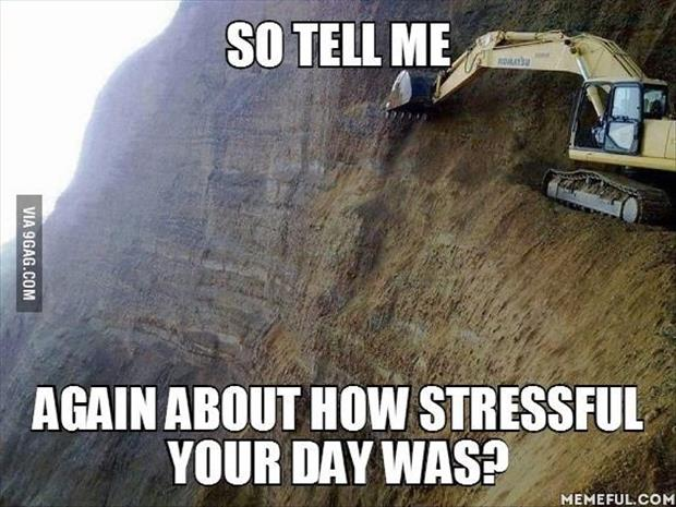 you day was stressful funny
