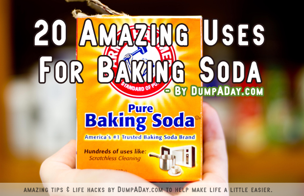 1 Amazing uses for baking soda