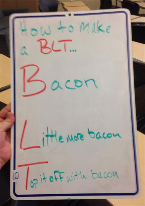 a how to make a blt
