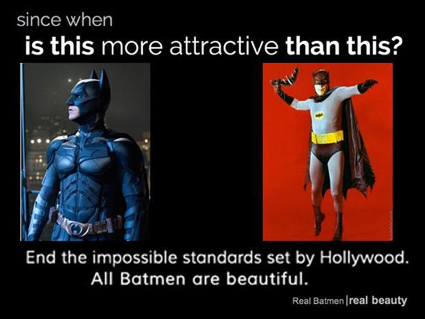 all batmen are beautiful