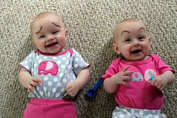 babies with eyebrows funny dumpaday (23)