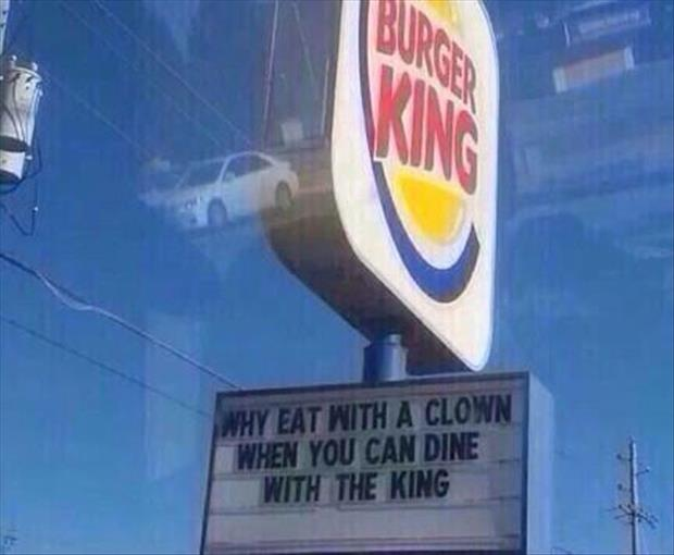 dine with a king
