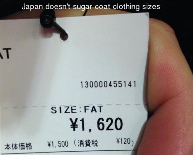 fat size