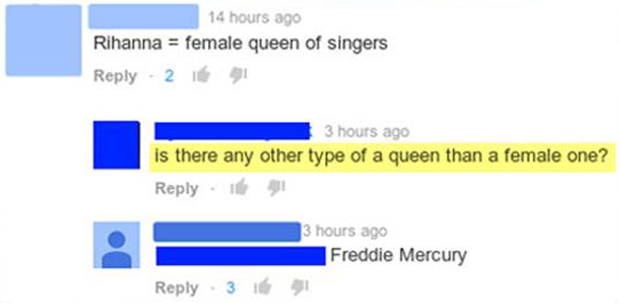 female queen singer