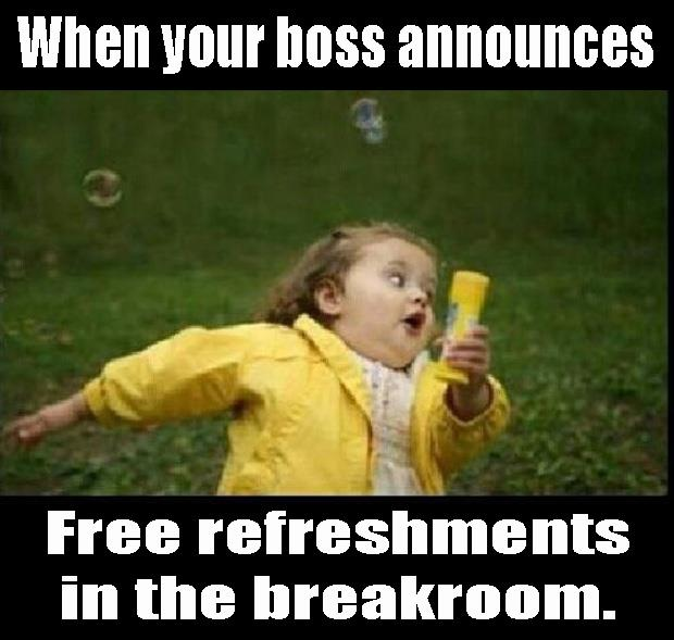 free refreshmints after church