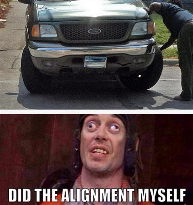 funny alignment