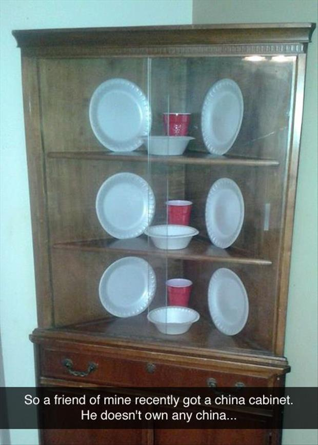 funny china cabinet