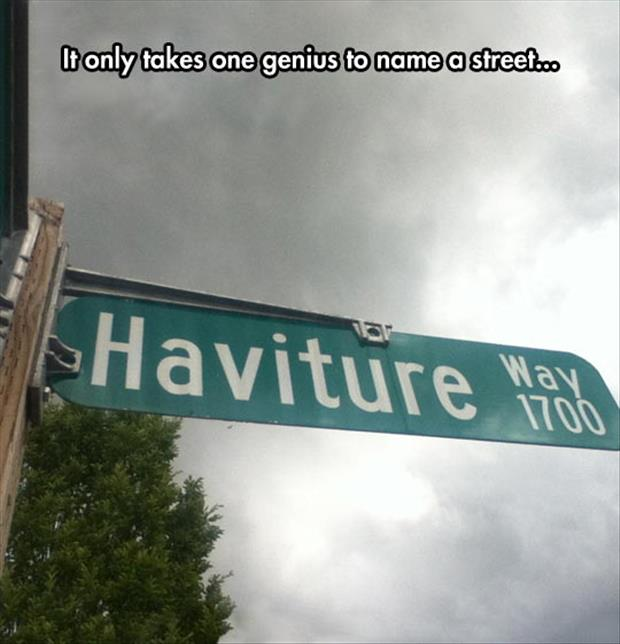 Funny Street Sign Names Funny Pictures Of The ...