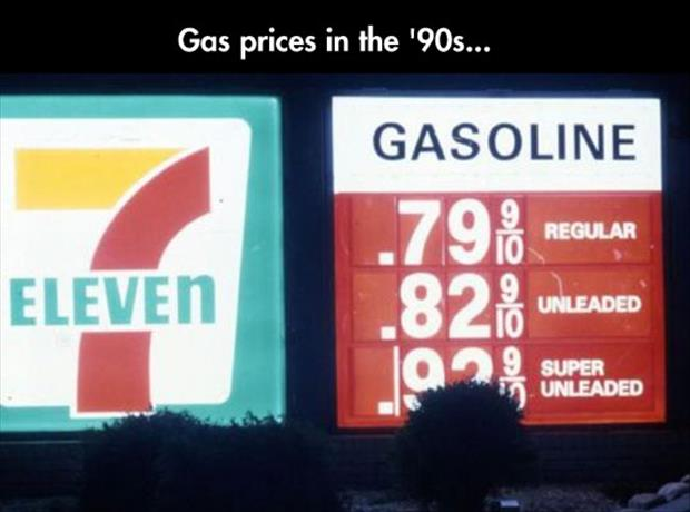 gas prices in the 80's