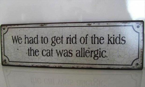 get rid of the kids