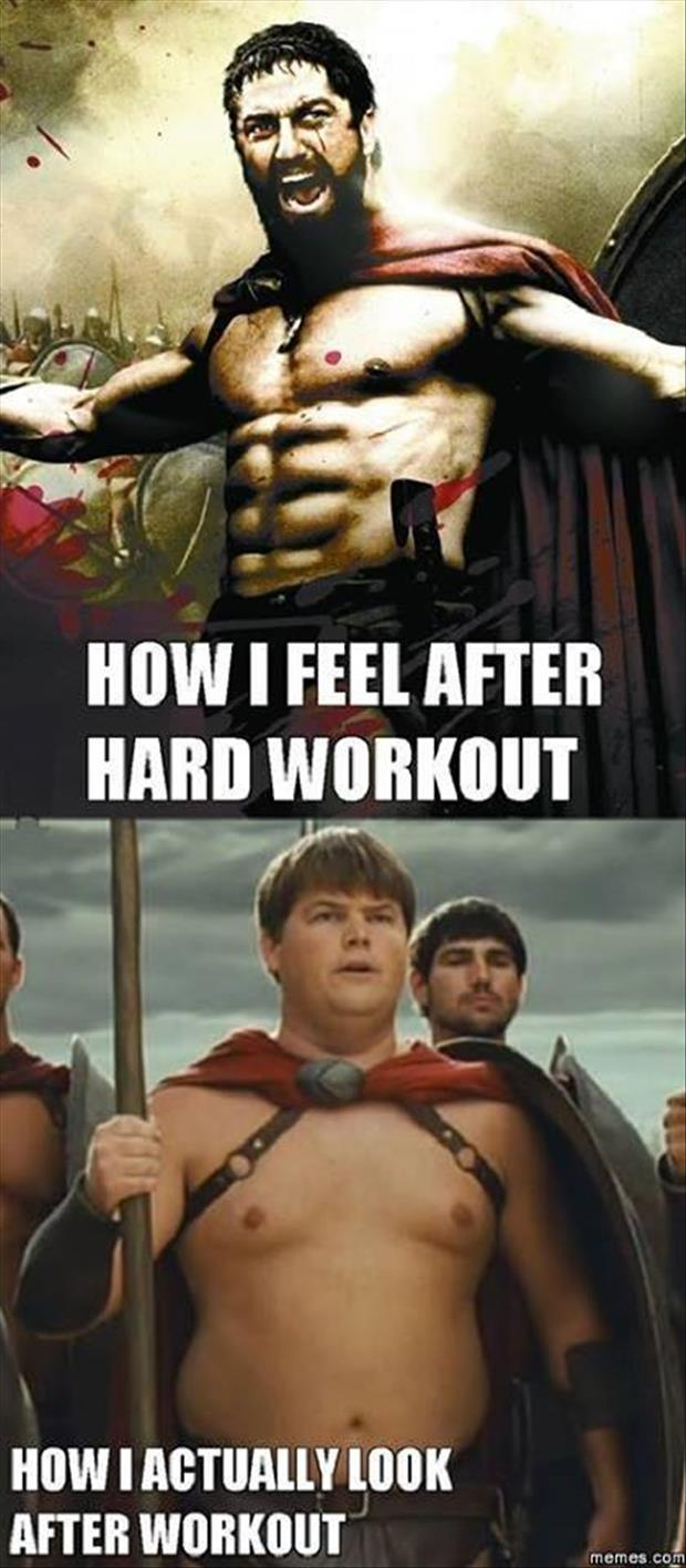 how I look after working out