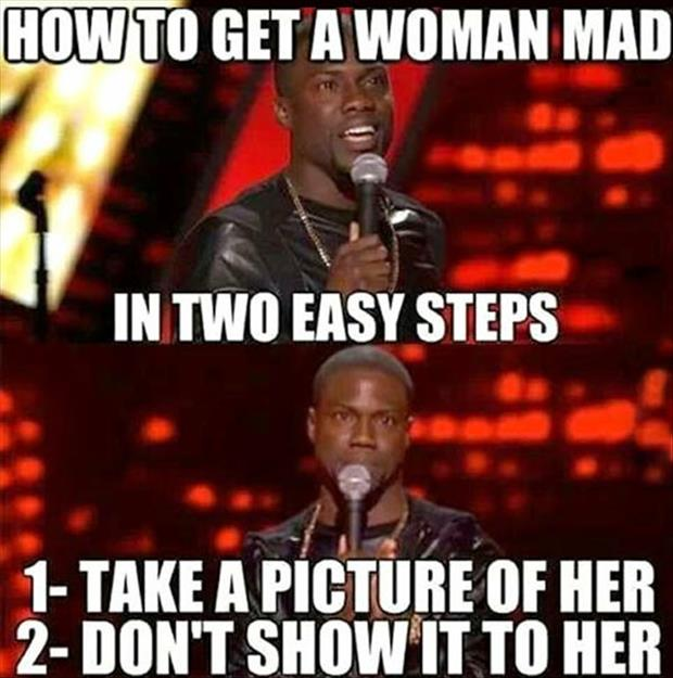 how to make a woman mad