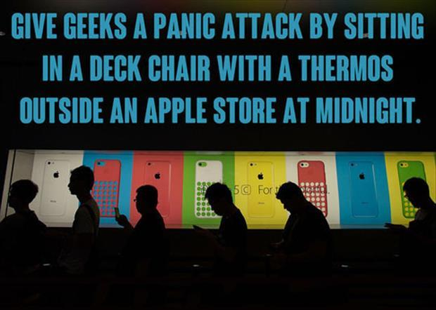 how to prank a geek