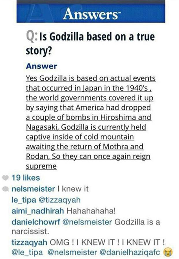 is godzilla real