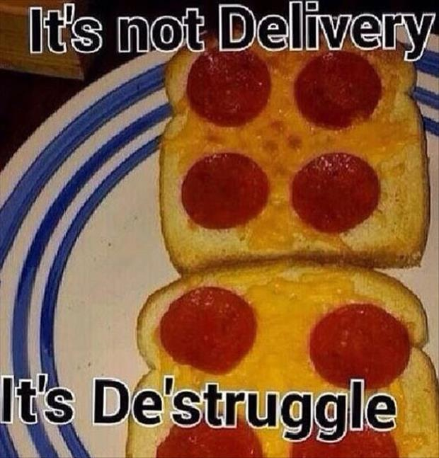 it's not delivery