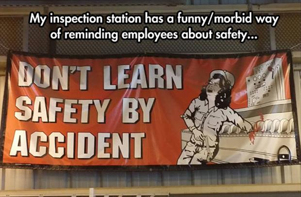 learn safety by accident