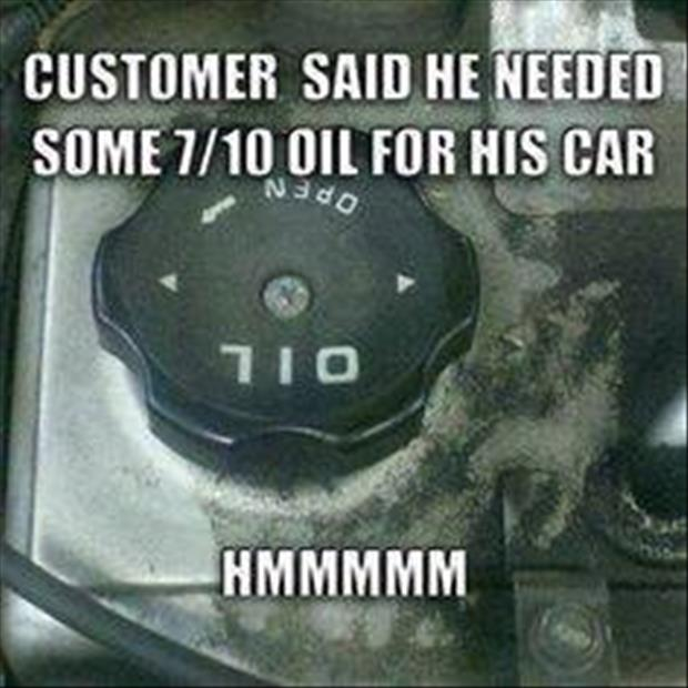 oil for your car