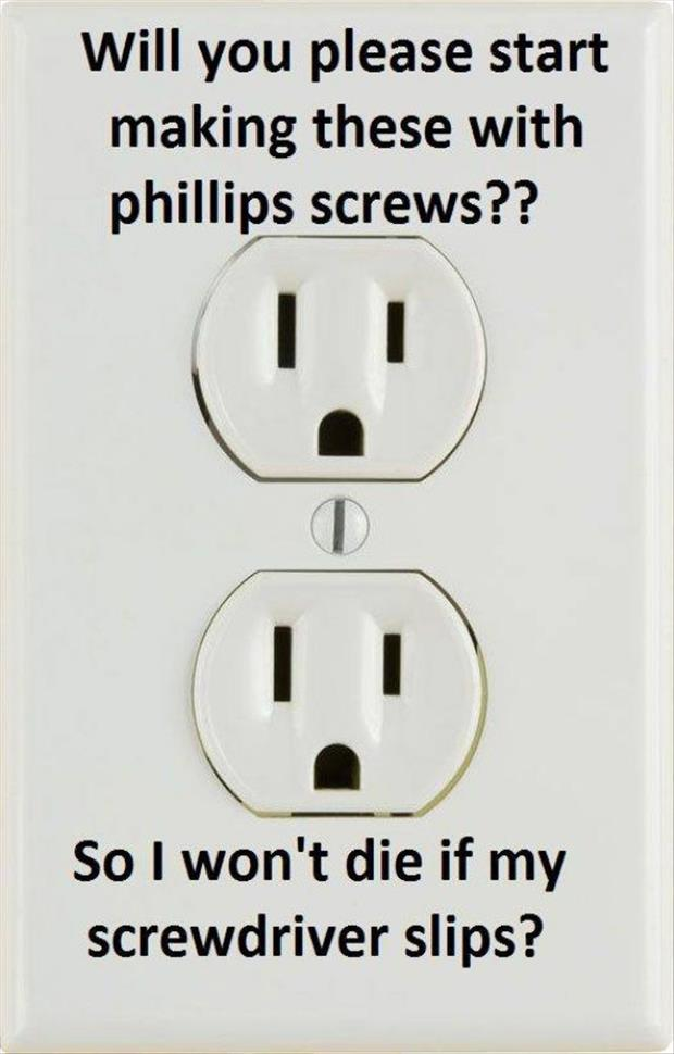 please start making these with phillips screws