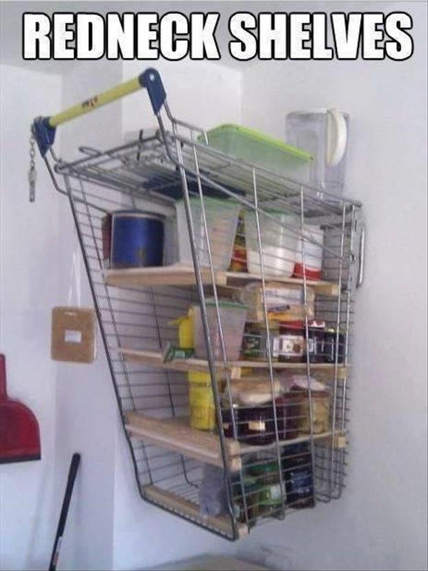 redneck shelves