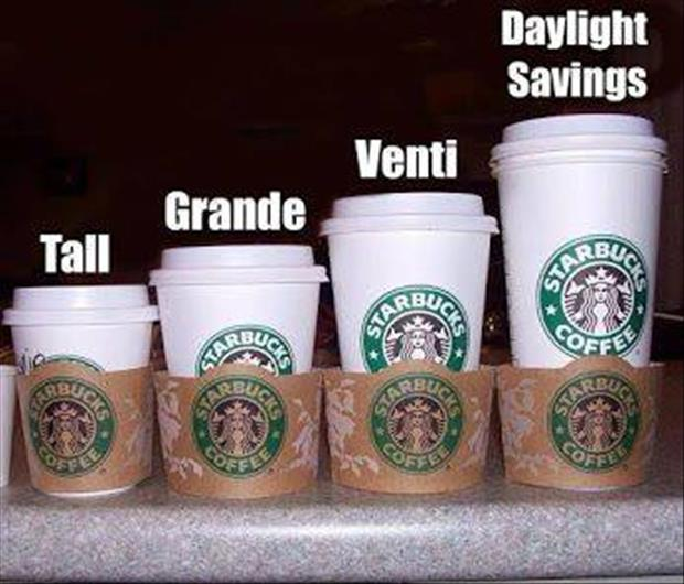 starbucks cup sizes