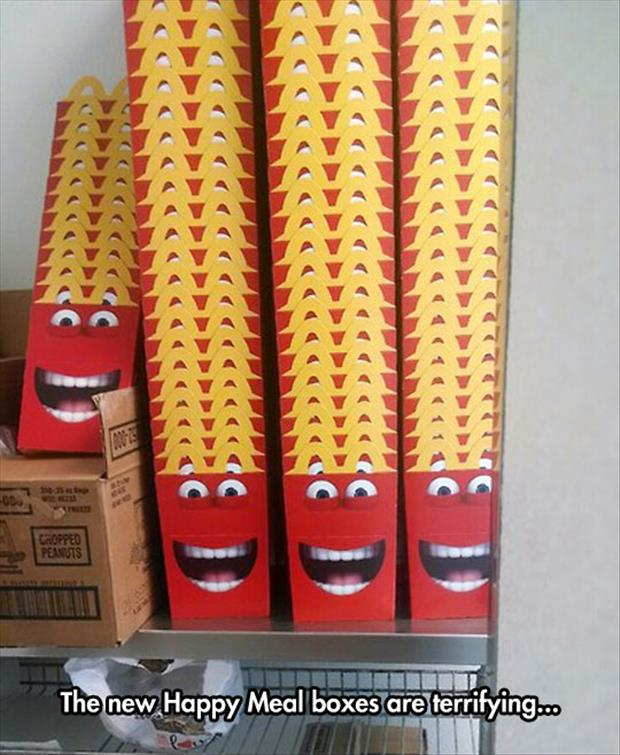 the new happy meal boxes