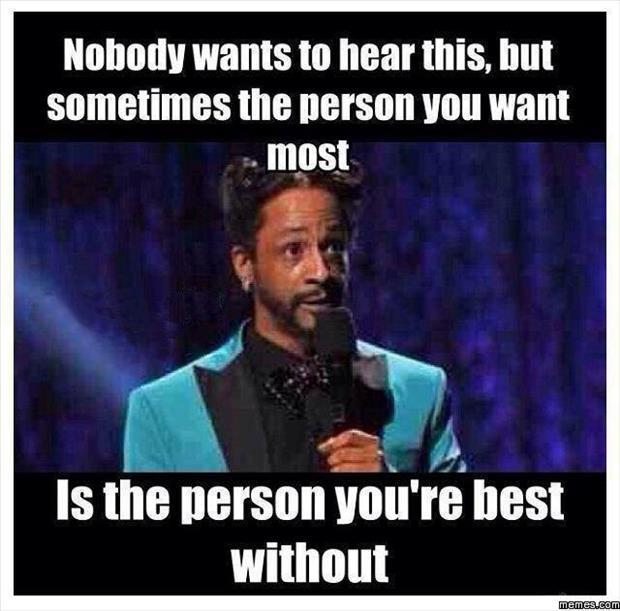 the person you want most
