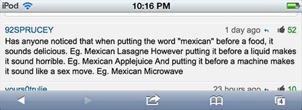 the word mexican