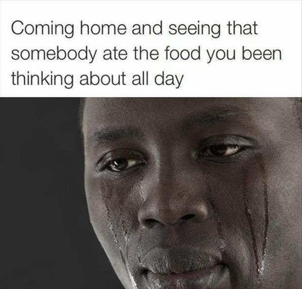 thinking of food all day