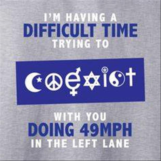 try to coexist