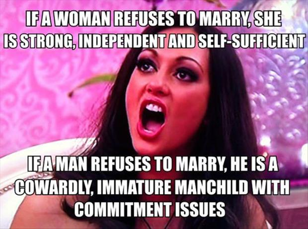women who refuse to marry