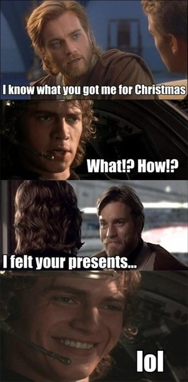 I know what you got me for christmas