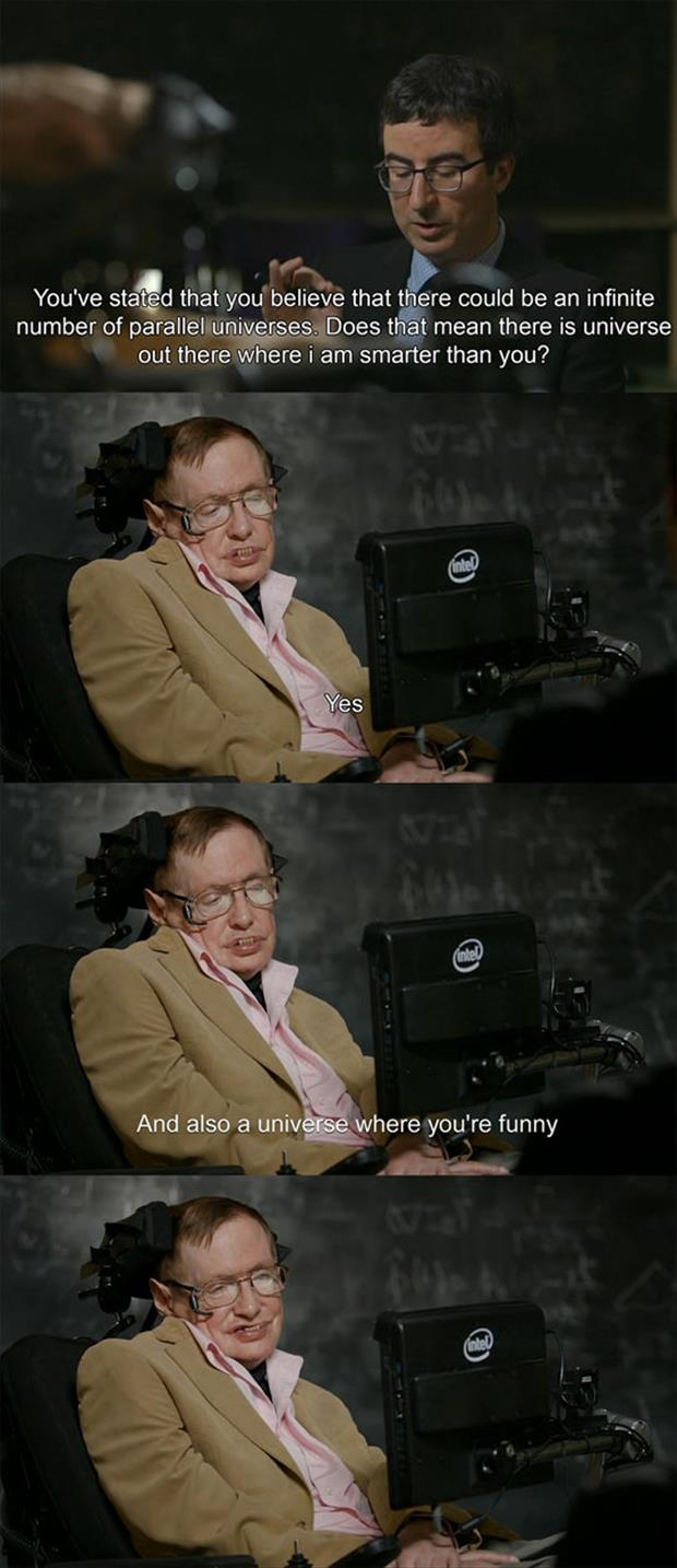 Stephen Hawking jokes