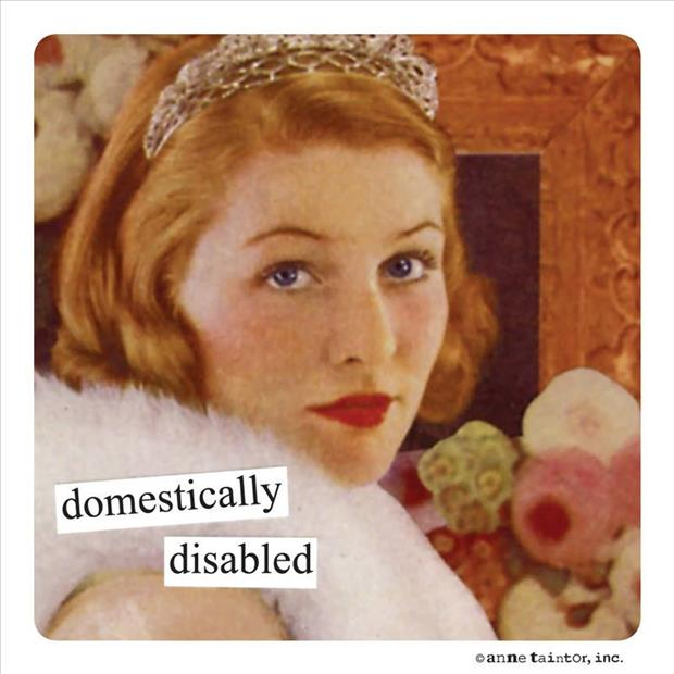 domestic woman