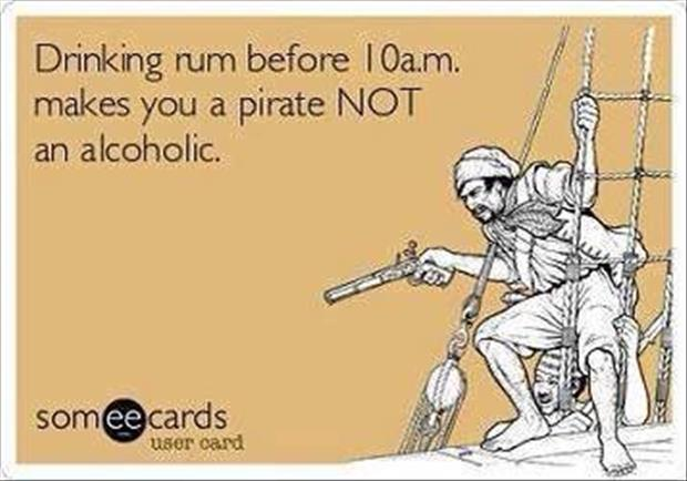 funny drinking rum