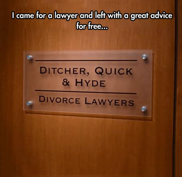 funny lawyer signs