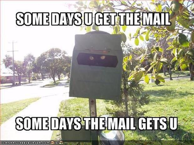 get the mail