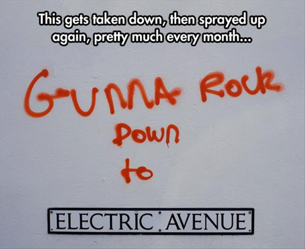 gonna rock down to electric avenue