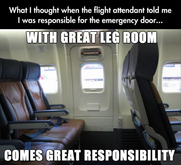 great leg room