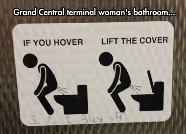 if you hover lift the cover