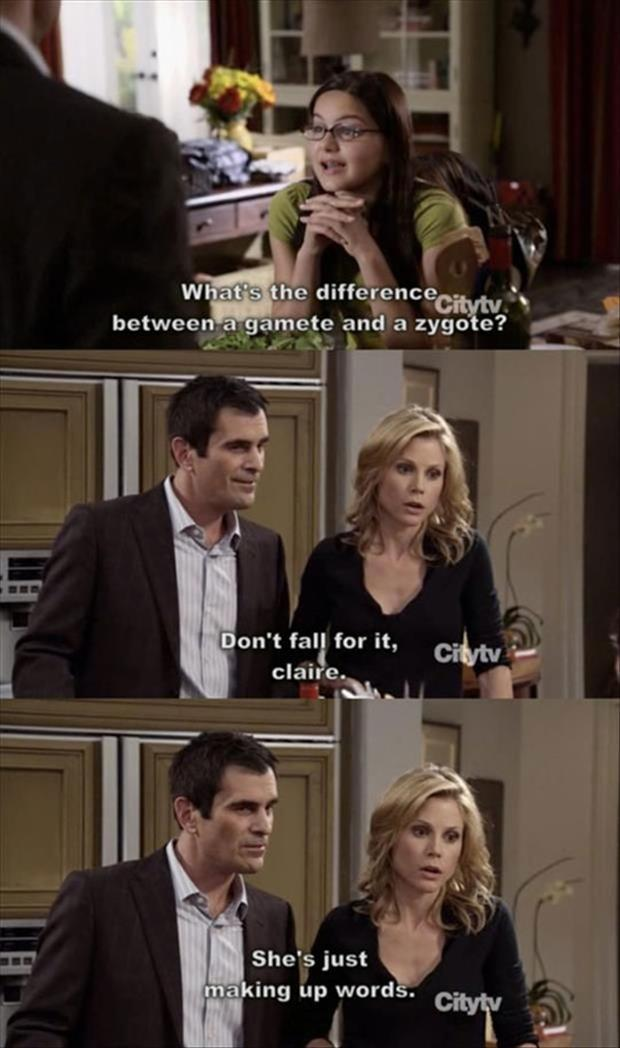 modern family captions