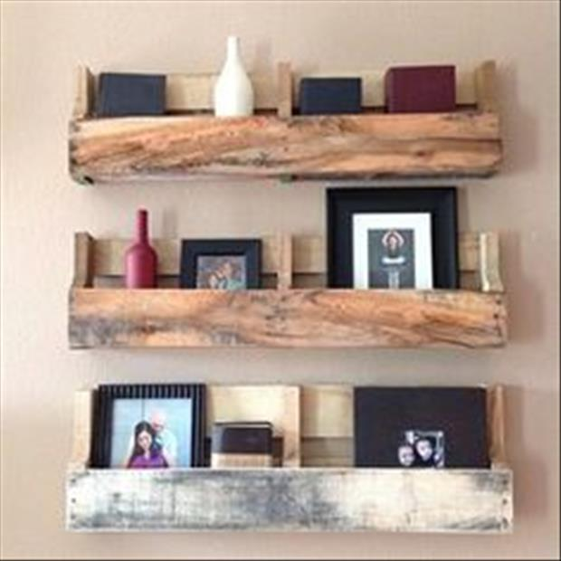 21 Amazing Shelf Rack Ideas For Your Home: 21 Amazing Uses For Old Pallets