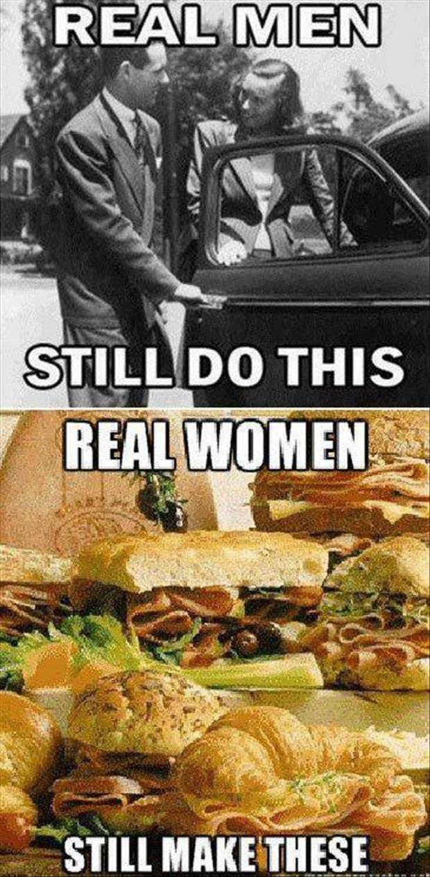 real men and women