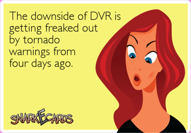 the down side of dvr