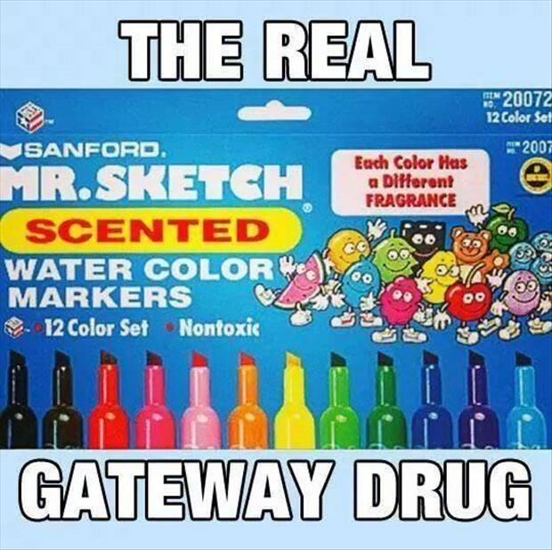 the real gateway drug