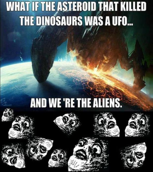 what if we're the aliens