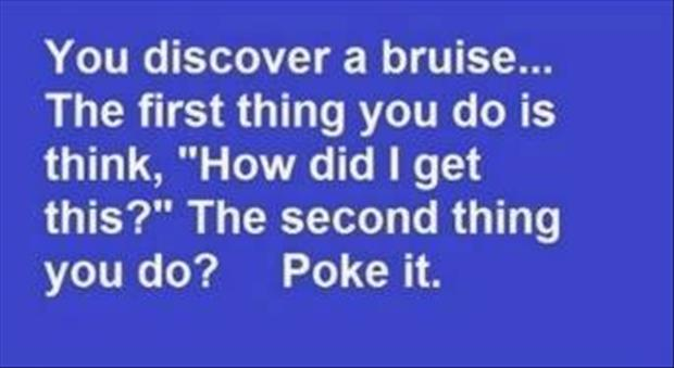 what to do when you get a bruise