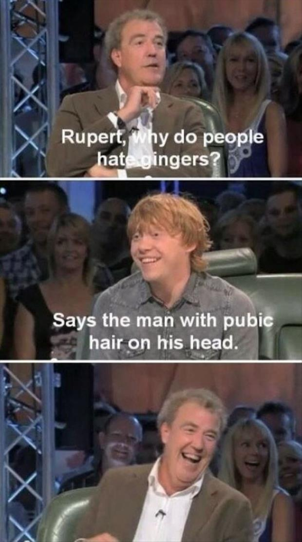 why do people hate gingers