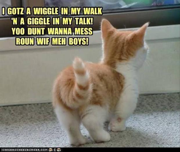 wiggle in my walk