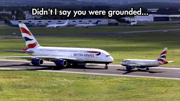 you are grounded
